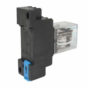 12v DC Coil Power Relay DPDT Ly2nj Hh62pl Jqx13f With Ptf08a