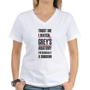 CafePress-Greys-Anatomy-Trust-Me-Black-T-Shirt-V-Neck-T-Shirt-17554529