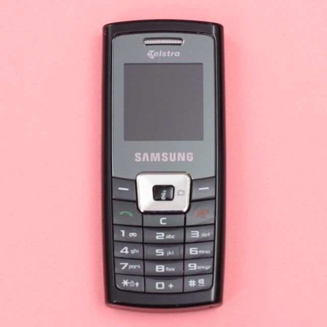 Samsung C450 (SGH-C450) 2G Mobile Phone (Black) [Locked to Telstra] *SOLD AS IS*