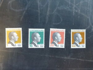 1994-LUXEMBOURG-GRAND-DUKE-JEAN-SET-4-MINT-STAMPS-MNH