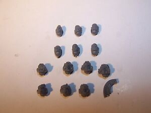 13-Space-Marine-Sternguard-Veteran-Heads-bits-auction-40K-Games-Workshop