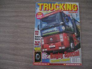 TRUCKING. INTERNATIONAL  MAGAZINE. from  1996. ( Classic German Trucks )