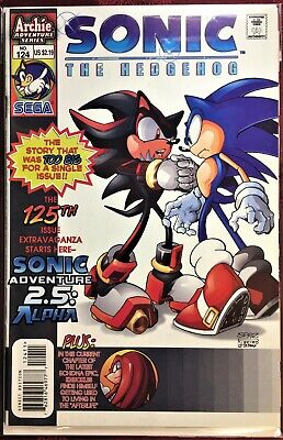 SONIC The HEDGEHOG Comic Book #13 August 1994 KNUCKLES Bagged /& Boarded NM