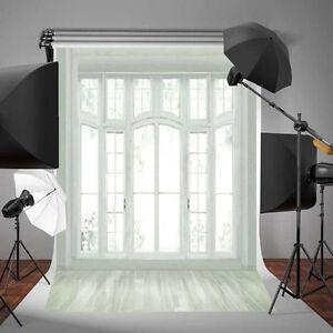 5x7ft Fashion New Window Backdrop Studio Vinyl Photography