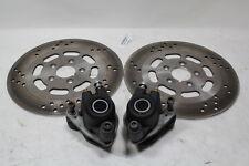 Harley 1999 & earlier dual disc brake calipers + rotors FXR Dyna XL FXD EPS20214