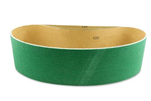 Pack of 3 4 X 52 1//2 Inch 120 Grit Metal Grinding Zirconia Sanding Belts