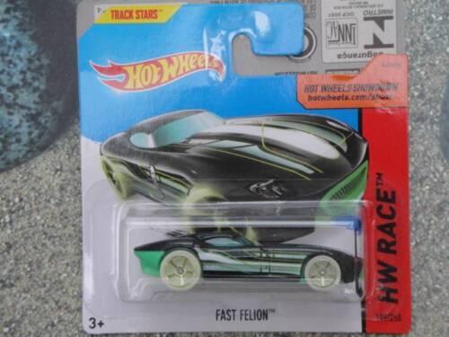 Hot Wheels 2014 #189//250 Fast FELION vert HW Race