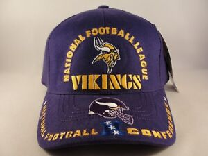 2414ec0a0 NFL Minnesota Vikings Vintage NFC Strapback Hat Cap American Needle ...