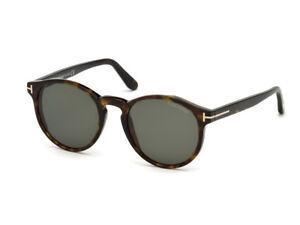27d36fa7c7f312 lunettes de soleil TOM FORD FT0591 havana sombre vert 52N   eBay