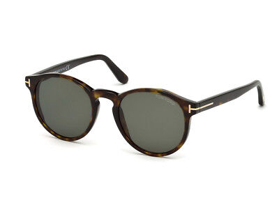 Amichevole Occhiali Da Sole Tom Ford Ft0591 Havana Scuro Verde 52n Dolorante