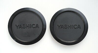 Yashica 57mm push on soft plastic cap to fit 55mm filter thread.