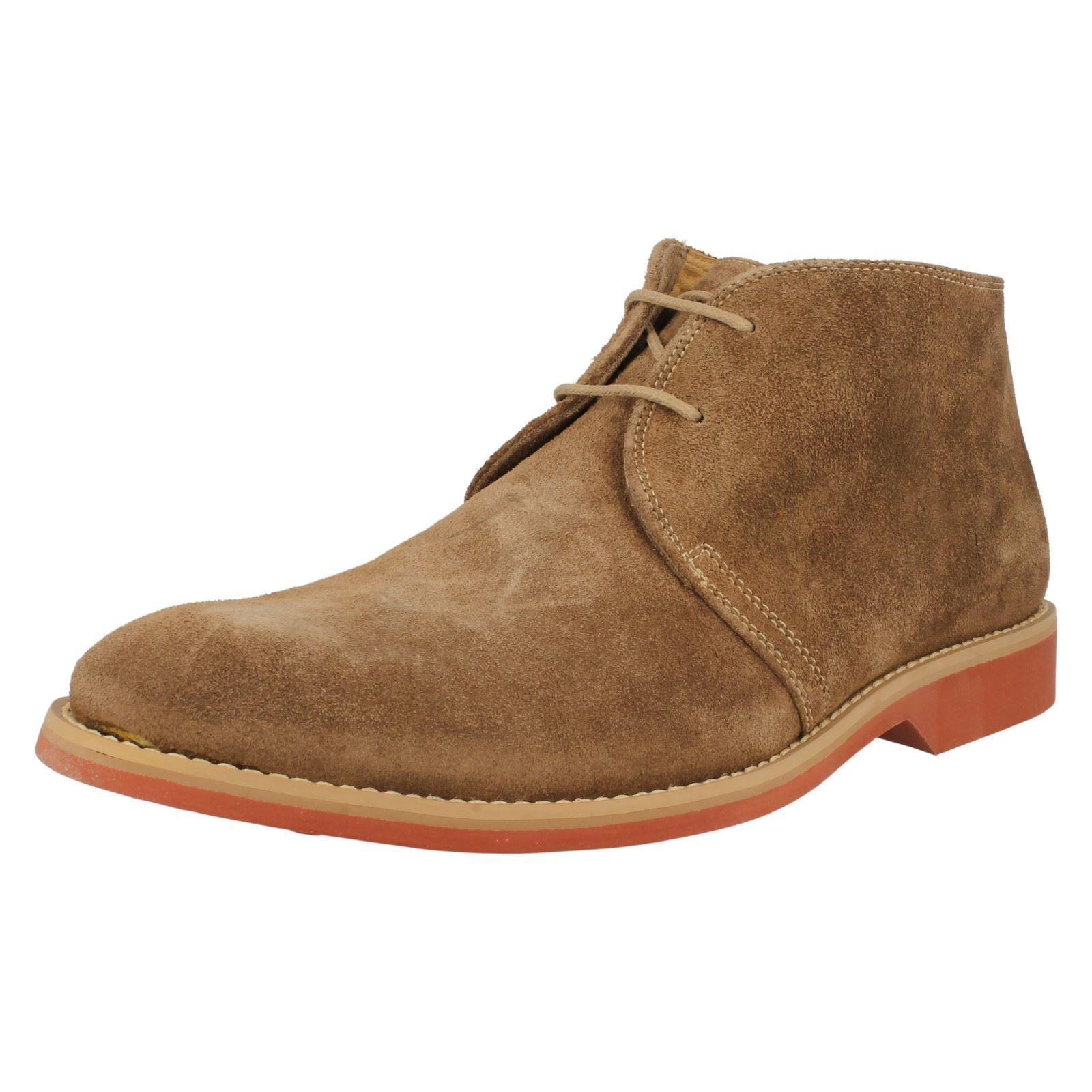 Anatomic & Co 525203 Colorado Ocre Suede Mens Ankle Boot Sizes 8, 10 & 11 (R40A)