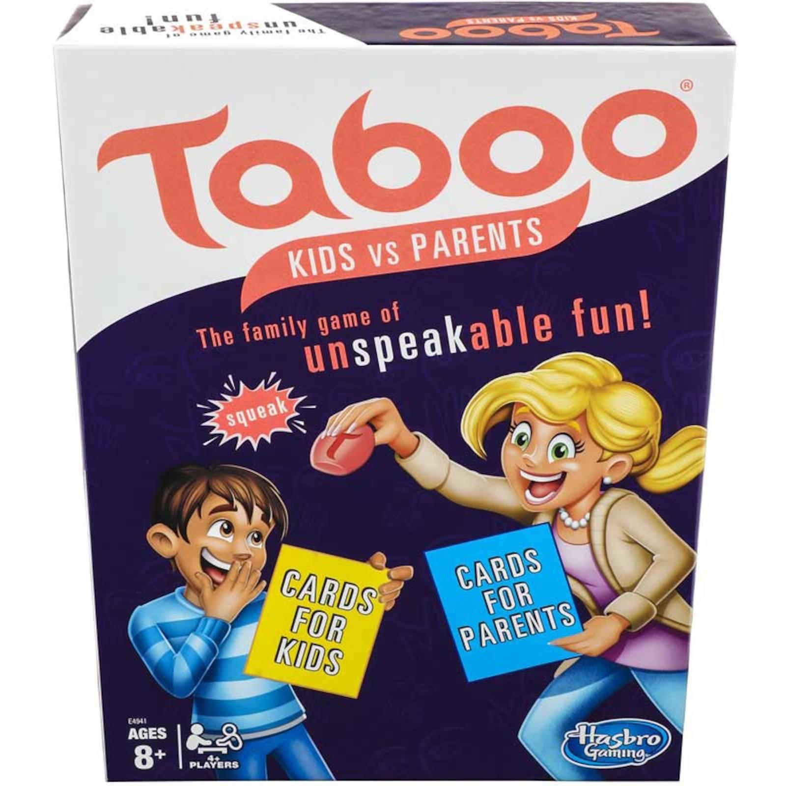 Niños de la la la familia tabú vs padres palabra adivinando Juego Por Hasbro Para Juegos  descuento online