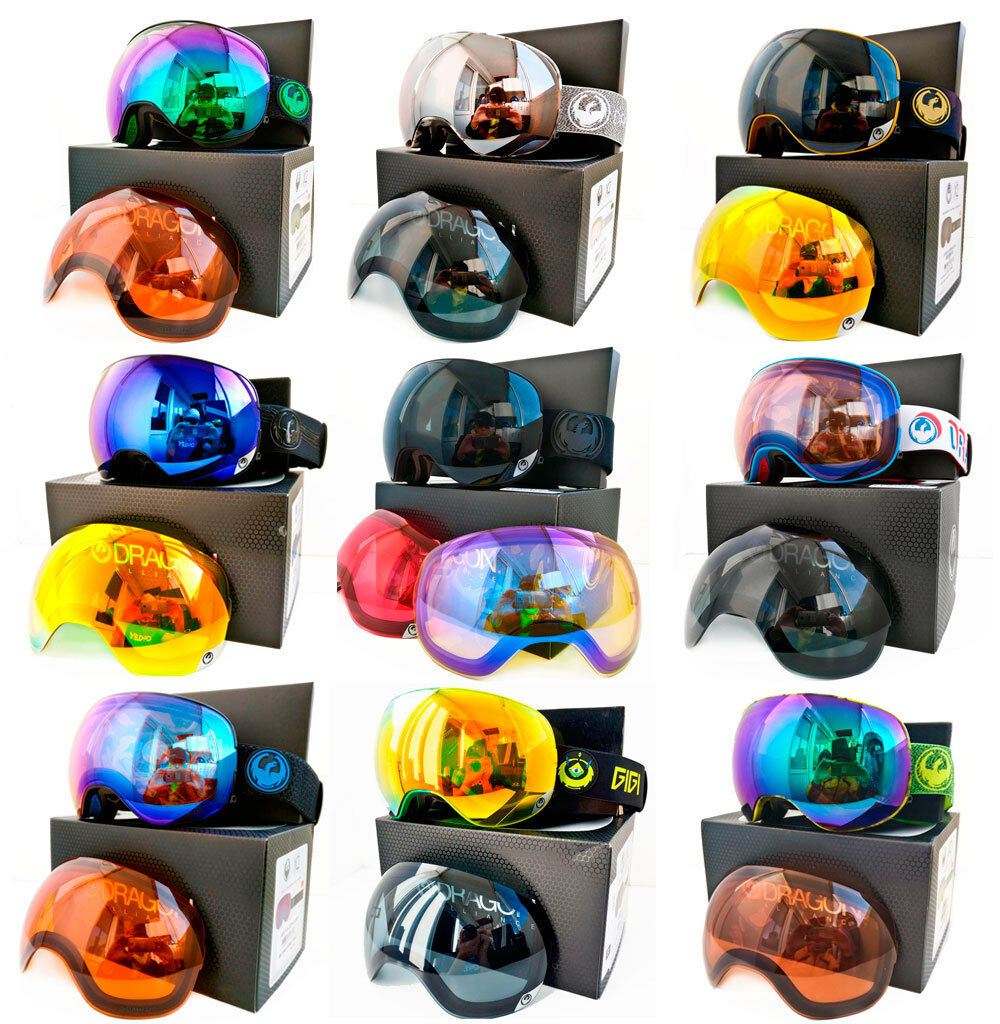 Dragon X2 OverGrößed Spherical TOP Snow Goggles (Various styles) Ski Snowboard