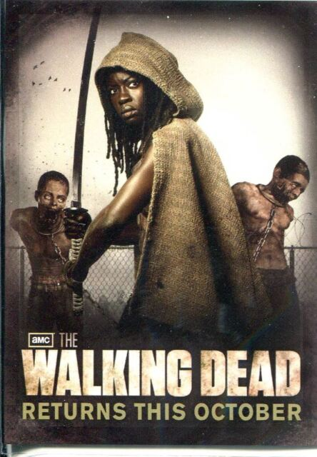The Walking Dead Season 2 Promo Card Sdcc1