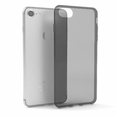 Ultra Slim Cover für Apple iPhone 8 / 7 TPU Case Silikon Hülle Anthrazit