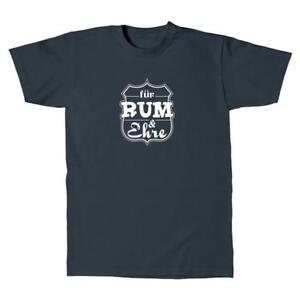 Herren-T-Shirt-Rum-und-Ehre-Sprueche-Fun