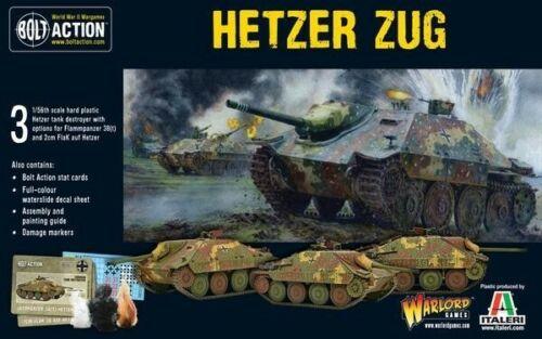 Hetzer Zug TI Perno acción Warlord Games Nuevo WGB-402012021