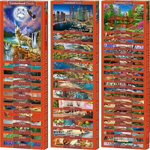 Castorland 1500 Piece Jigsaw Puzzle Landscapes Cities