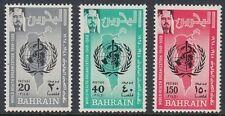 Bahrain 1968 ** Mi.165/67 WHO Gesundheit Health Medizin Medicine