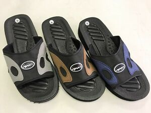e5d9c22ad3393 Image is loading 6512-Men-Summer-Casual-Sandal-Slippers-Indoor-Outdoor-