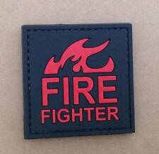 Firefighter Cosplay PVC Patch