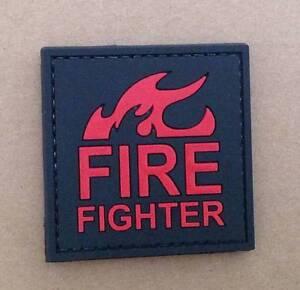 Firefighter Cosplay PVC Patch - Nuneaton, United Kingdom - Firefighter Cosplay PVC Patch - Nuneaton, United Kingdom