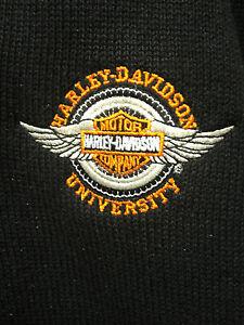 harley-davidson university (hdu) dealer only sweater | ebay