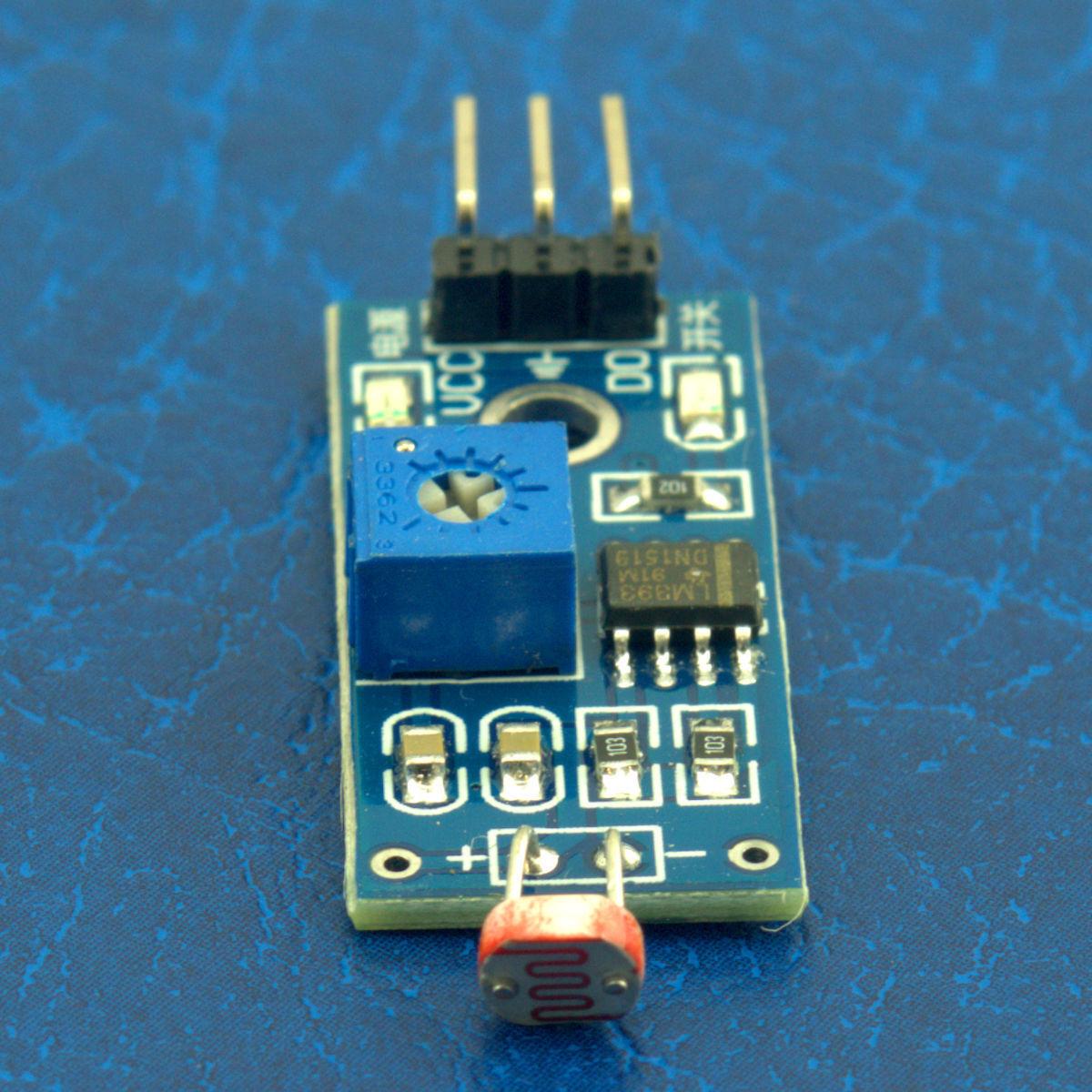 Light Sensor Module Ldr Photo Resistor For Photoresistor Beginners In Electronics Product Details