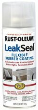 CLEAR Leak Seal Flexible Rubber Sealant Coating Rust Oleum 265495 11 oz Spray