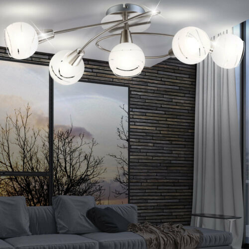 Top Deckenleuchte Wohnzimmer LED Beleuchtung 20 Watt Flur Deckenlampe modern neu
