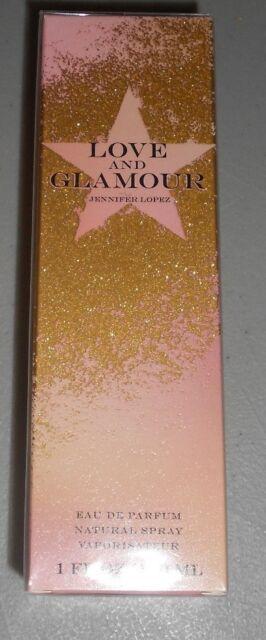 NEW SEALED Jennifer Lopez Love and Glamour Perfume EDP 1 oz