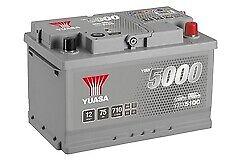 Yuasa YBX5100 Standard Battery