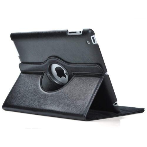 Rotates 360 Degrees Magnetic Cover Stand Apple iPad 2 3 4 Leather Case