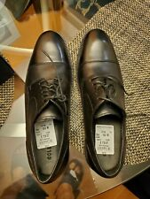 Cole Haan Benton II Cap Toe Leather Oxfords Shoes Size 11 M Black