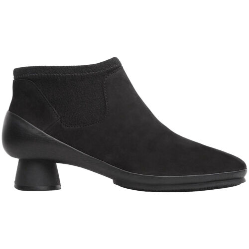 Camper Alright K400218 Nubuck Ankle Bootie Chelsea Slip-on Womens Boots