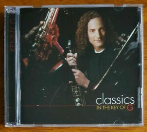 CD-KENNY-G-Classics-In-The-Key-Of-G-Smooth-jazz-very-good-condition-Arista-1999
