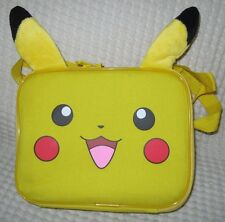 POKEMON PIKACHU WITH EARS LUNCHBOX-PIKACHU LUNCH BAG LUNCH BOX-BRAND NEW!