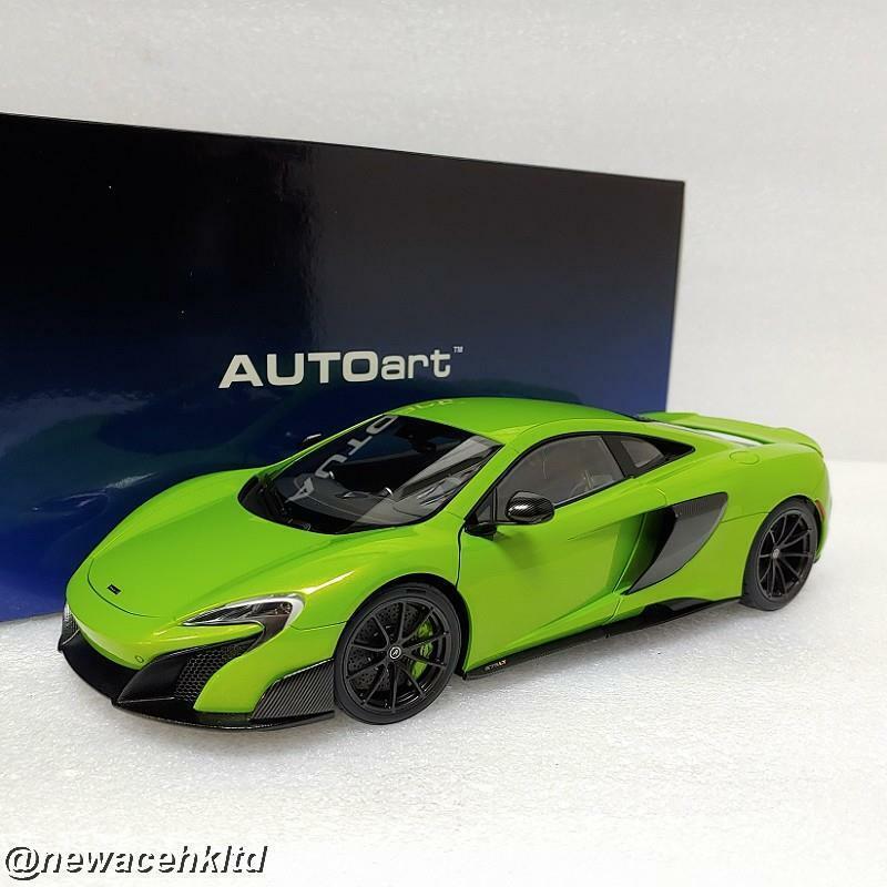 MCLAREN 675LT (NAPIER GREEN) AUTOart MODEL 1 18  76049