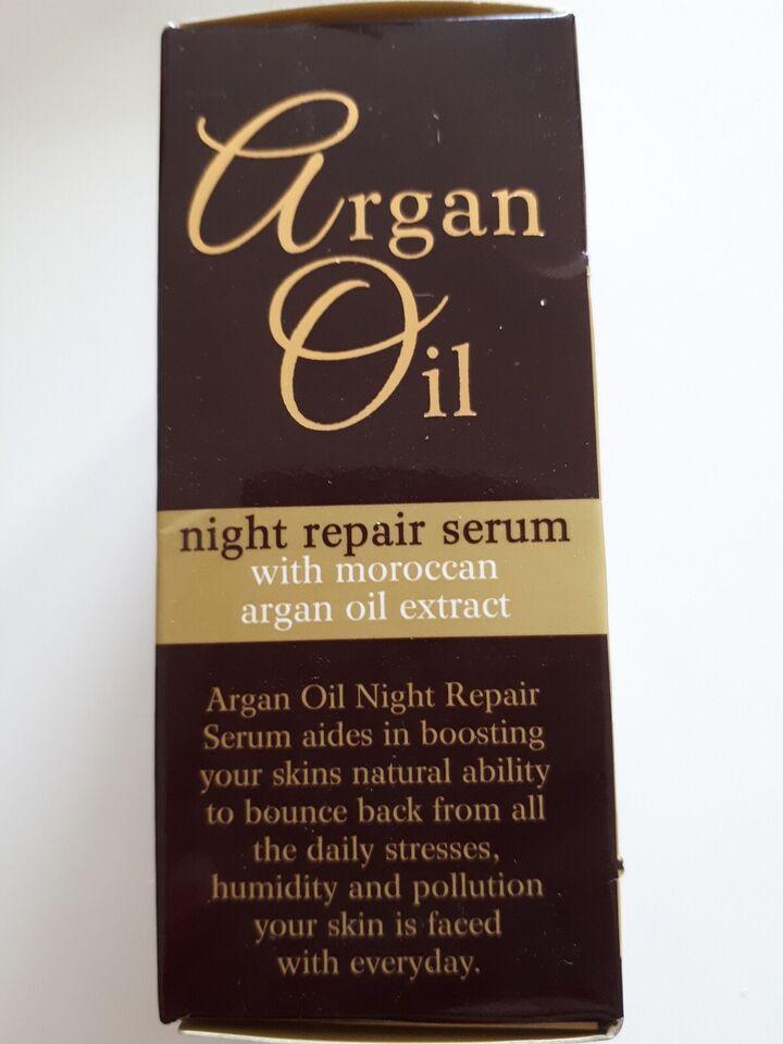 Ansigtsserum, Argan face oil Serum