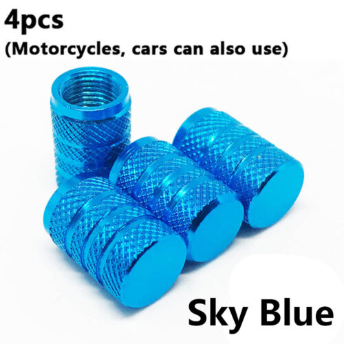 4Pc Bike Wheel Tire Covered Car Motorcycle Truck Universal Tube Tyre Caps New