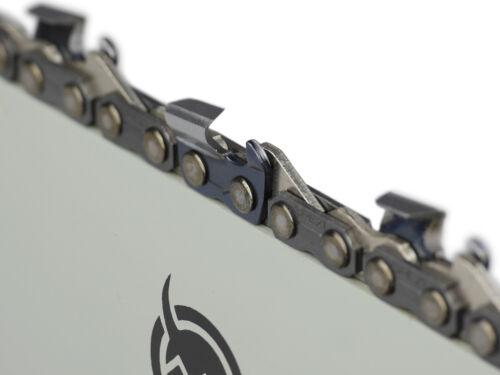 """2 Ketten passend für Echo CS 440 45 cm 325/"""" 72TG 1,3mm Sägekette chain Schwert"""
