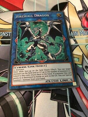 Near Mint Engl Secret Rare COTD-EN043 Firewall Dragon Unlimited Edition