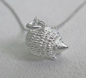 Lucky Protection Solid 925 Sterling Silver Cat Kitten Pendant Necklace