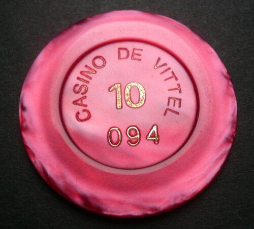Casino de Vittel 10 Francs Jeton  Vittel Lorraine//France ALT