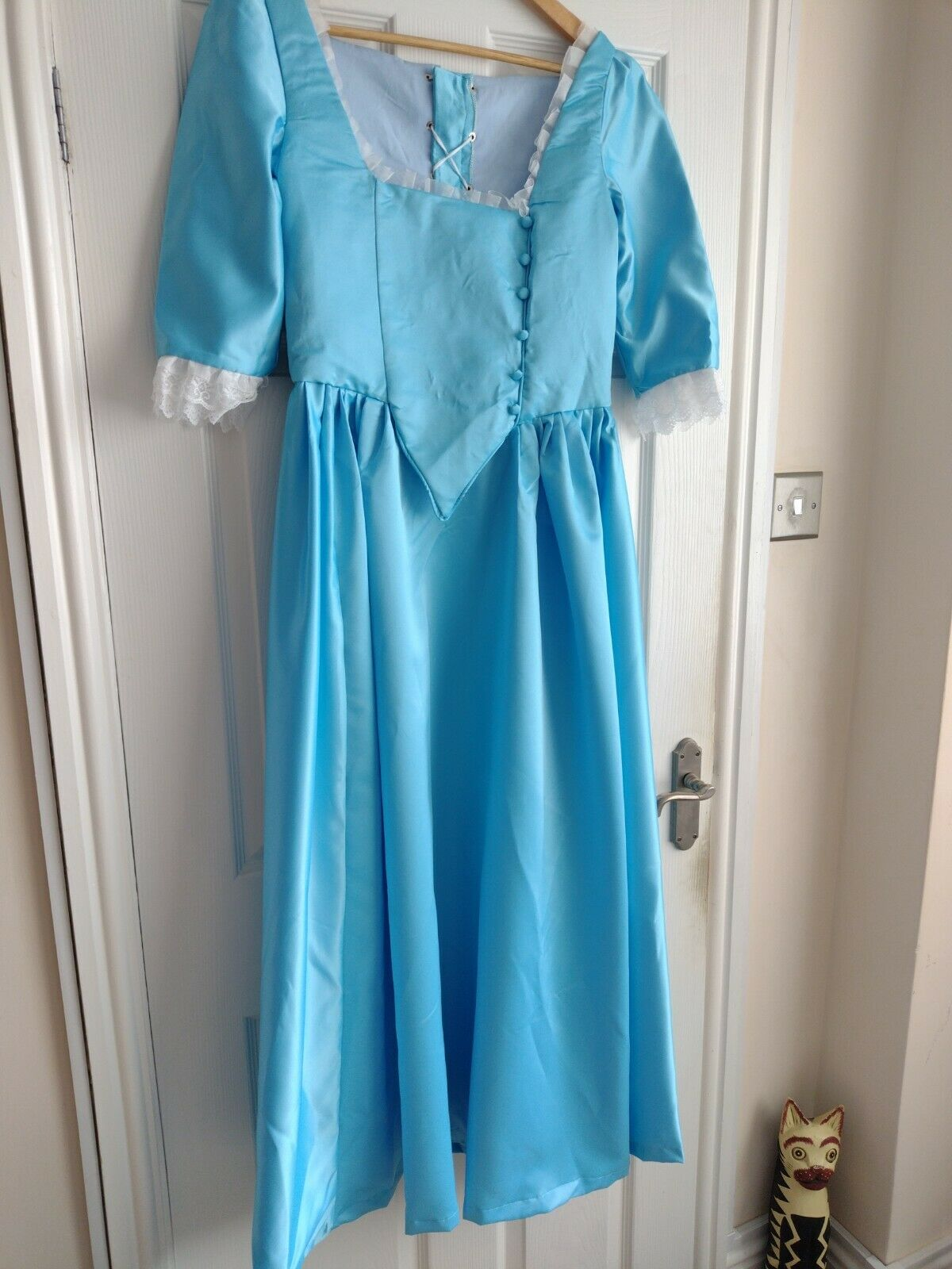 Eliza Hamilton Regency Dress Jane Austen Gown Bridgerton Size 10