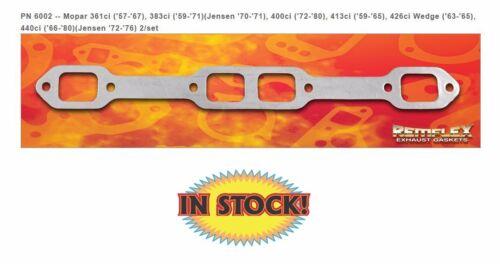 Remflex 6002 Mopar V8 361-440 Exhaust Gasket