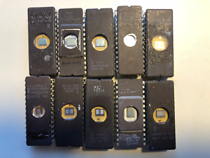 EPROM-64-KB-Type-2764-various-manufacturers-expanded-from-old-systems-Slots