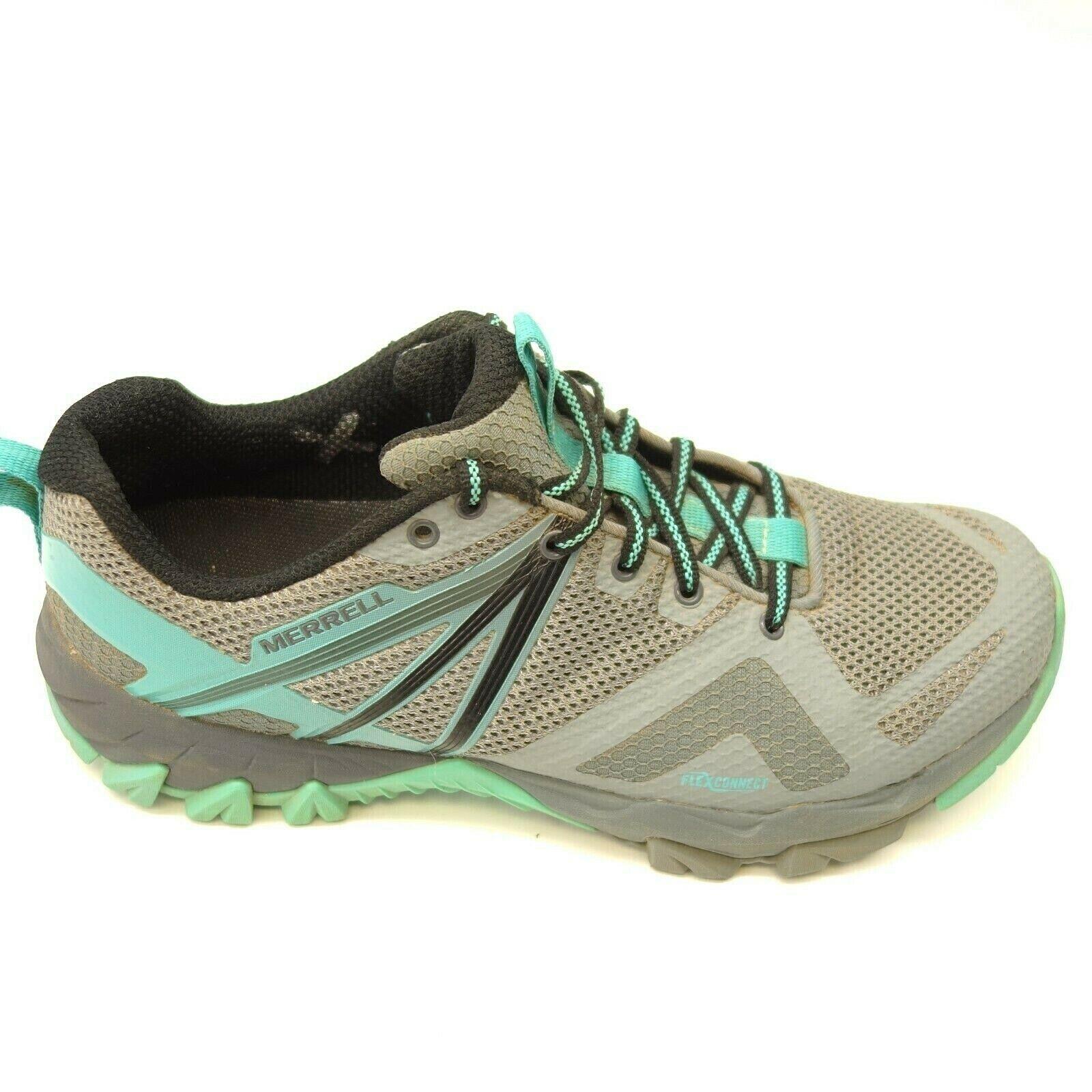 Merrell Mqm Flex Gr. UK 8 Grau Athletic Außen Traillauf Damen Schuhe