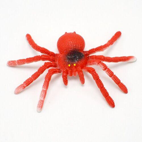 Fake Spinne Gummi Künstliche Vogelspinne Witz Scherz Streich Spielzeug 15x8cm